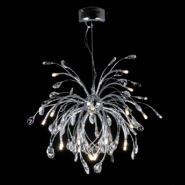 ==> [Free Shipping] Buy Best AC110/220v led Modern chrome chandelier light fixtures Pendant lamps luminaria G4 led bulbs pelucia lustre decorative wedding Online with LOWEST Price | 32316988518