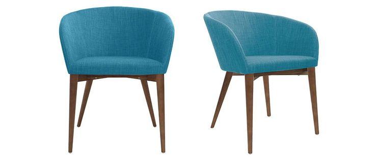 les 25 meilleures id es de la cat gorie fauteuil bleu. Black Bedroom Furniture Sets. Home Design Ideas
