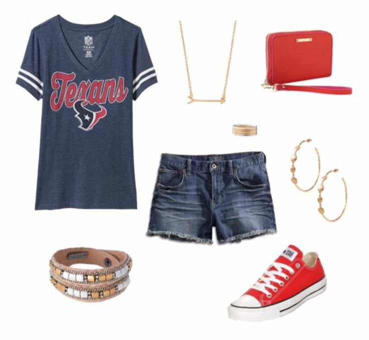 Houston Texans Game Day outfit