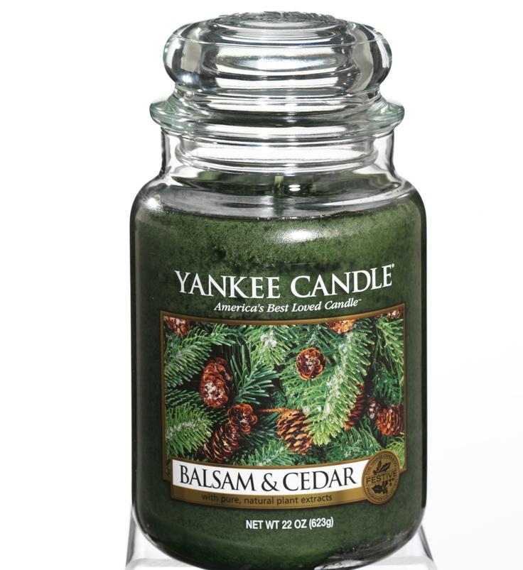 Balsam & Cedar #YankeeCandle #StopandSmell #Holiday