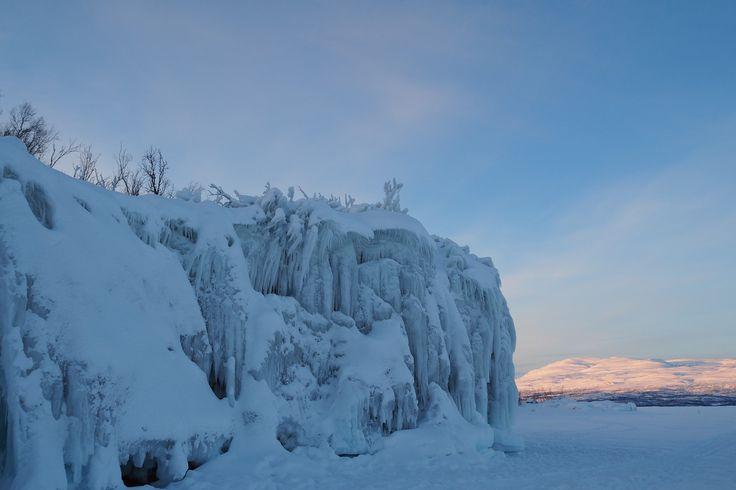 Sweden Ice Sculpture - natural!. #travelforayear #justgottaride #travelplanner #travel #worldtrip #travelbudget #sweden