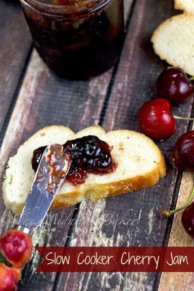 Slow Cooker Cherry Jam!