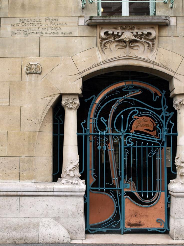 castel beranger, paris, 1898, hector guimard -