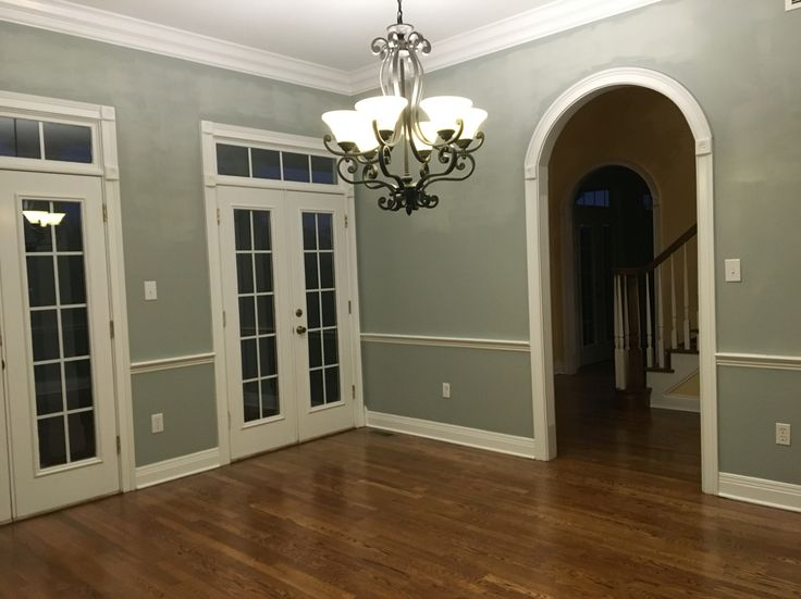 My Dining Room Paint Magnetic Gray Sherwin Williams