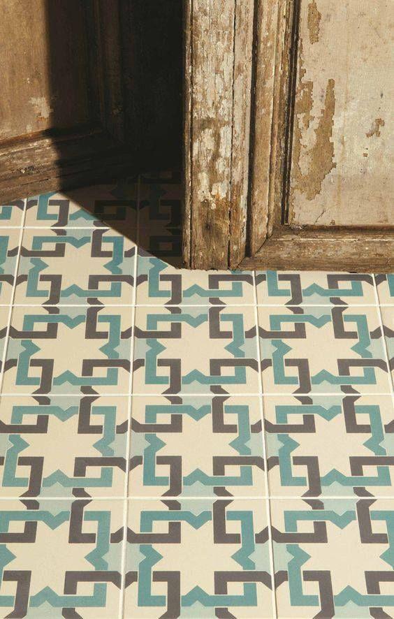 Imagen de inspiración - #azulejos #hidráulicos #cerámica #handmade Más