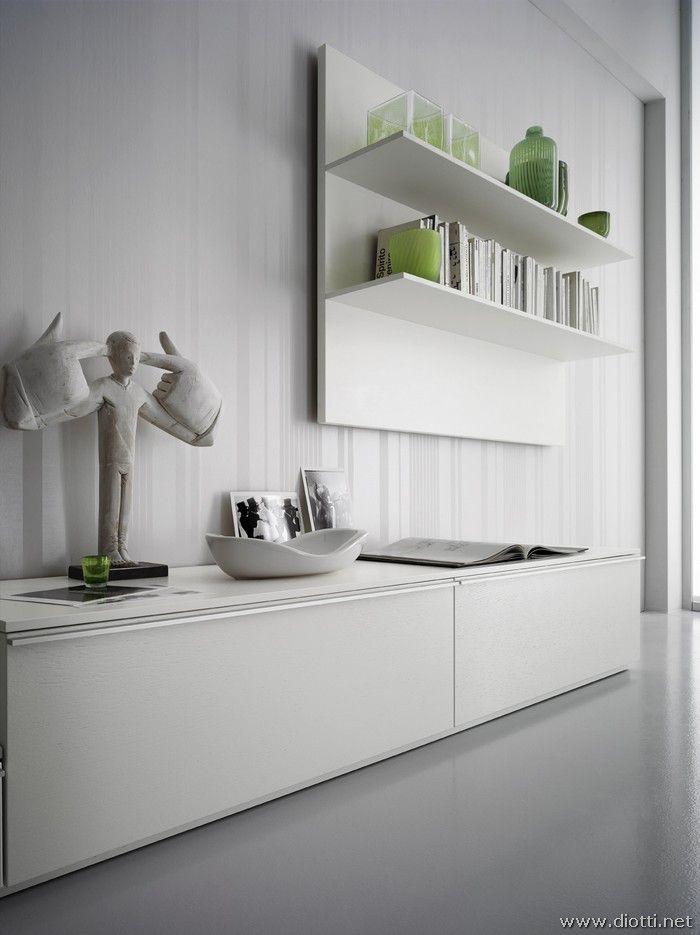 Oltre 25 fantastiche idee su mensole cucina su pinterest - Mensole cucina moderna ...