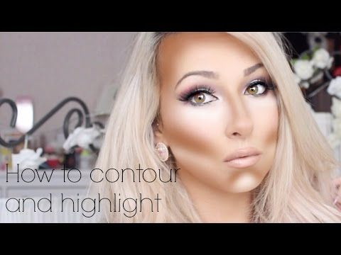 CONTOURING & HIGHLIGHTING for beginners! Drugstore products and brushes - YouTub...