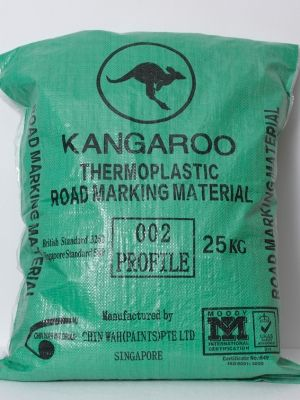 Hot-Applied Raised Pavement Marking Material