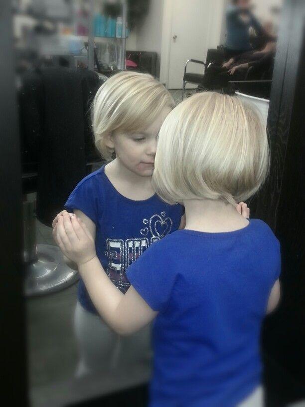 Little Girl Bob Haircut Babies Pinterest Bobs Girls