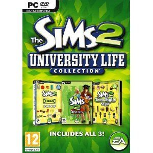 The Sims 2 University Life Collection - PC - http://www.rekomande.com/the-sims-2-university-life-collection-pc/