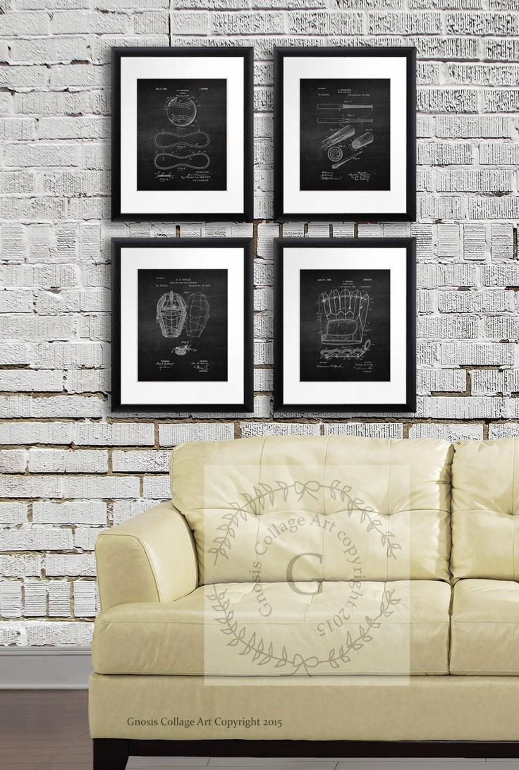 The 25 Best Baseball Wall Art Ideas On Pinterest