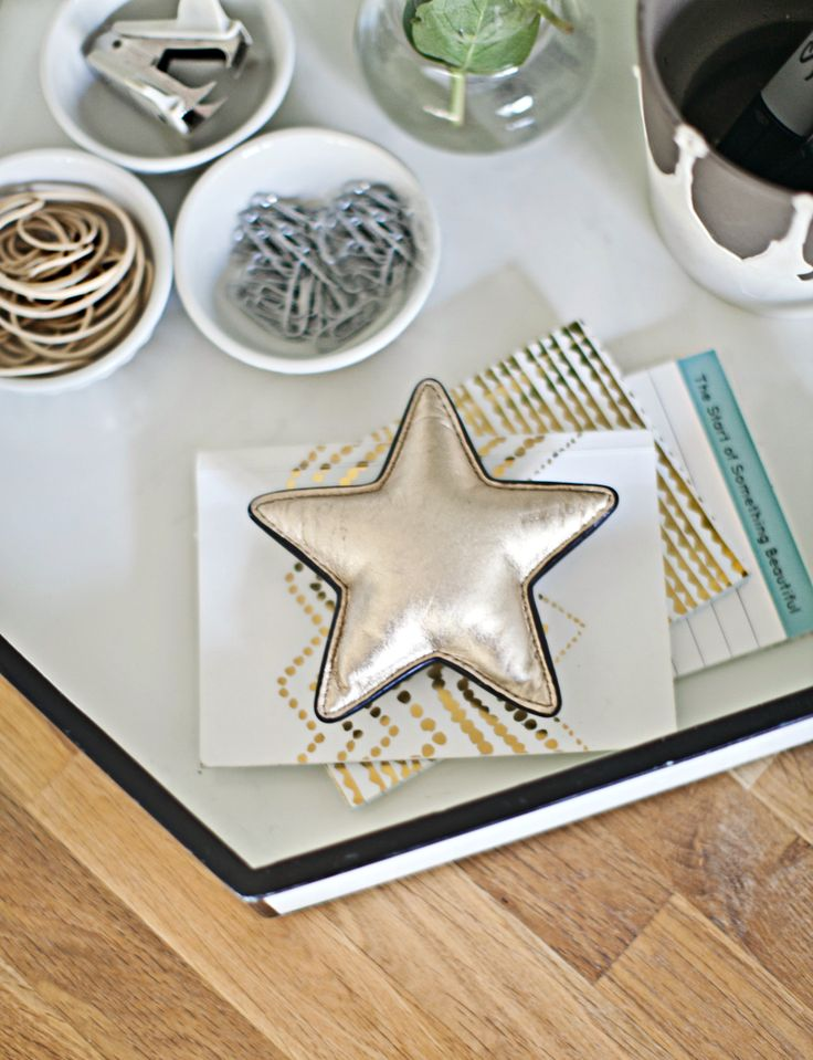 9 Steps to a More Organized Office   Decor Fix- tame small items