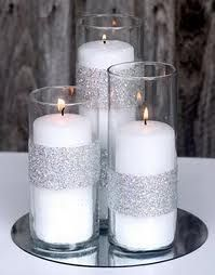 Love this candle set up but since for a 1 year old bd party - using LED candles…
