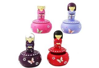 Japanese Doll Trinket Box