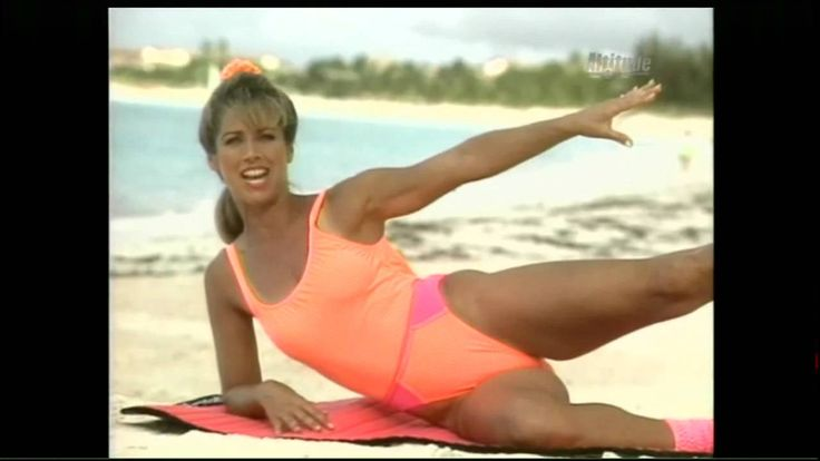 Denise Austin Beach Beauty Hd Exercise Pinterest