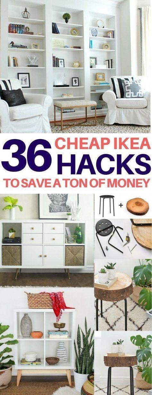 BRILLIANT Ikea-Hacks müssen Sie sehen, um zu glauben! Cheap & easy ikea hacks, diy wohnkultur, diy raumdekor, wohnzimmerideen, schlafzimmerideen, küchenideen