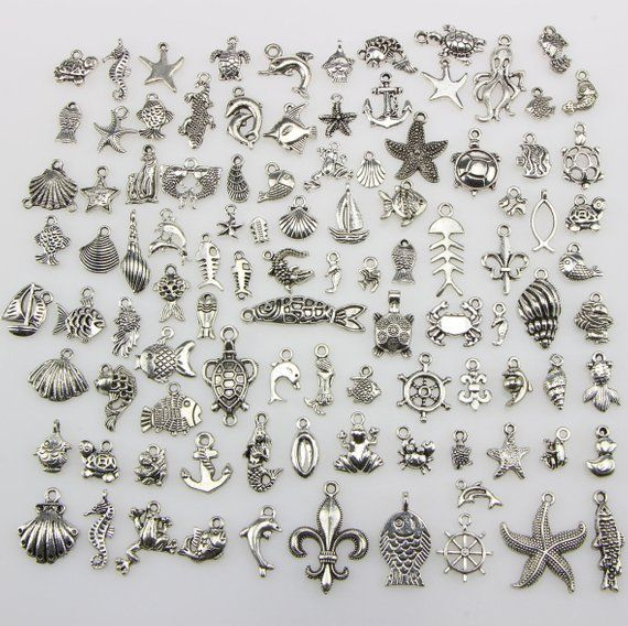 24++ Silver charms for jewelry making info