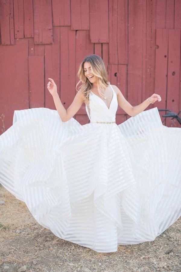 Styling the Gorgeous Decklyn Wedding Dress by Hayley Paige | Rahel Menig Photography  on @heyweddinglady via @aislesociety