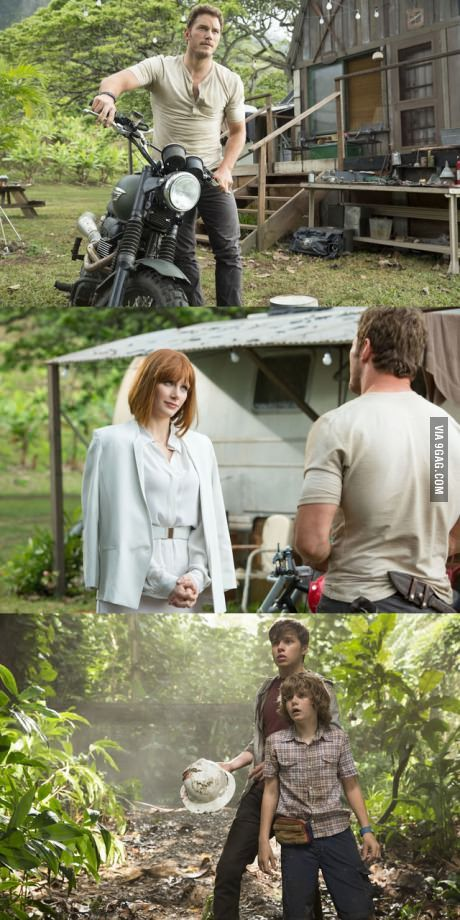 Exciting first look at Jurassic World