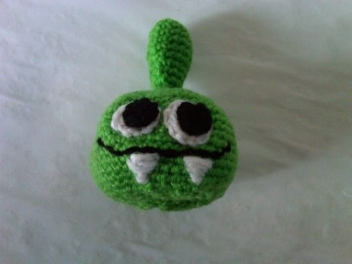 Monstrito a crochet