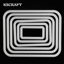 KSCRAFT Frames Metal Cutting Dies Stencils for DIY Scrapbooking Decorative hobby stansen voor papier Embossing DIY Paper Cards(China (Mainland))