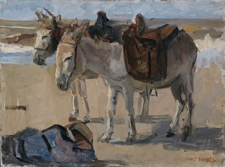 """Two donkeys"" 
