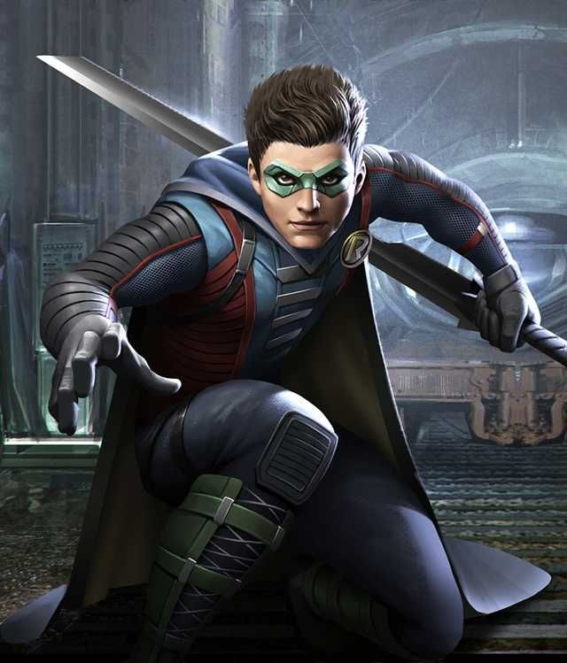 Injustice 2 Mobile Roster Damian Wayne Dc Comics Heroes Robin Dc