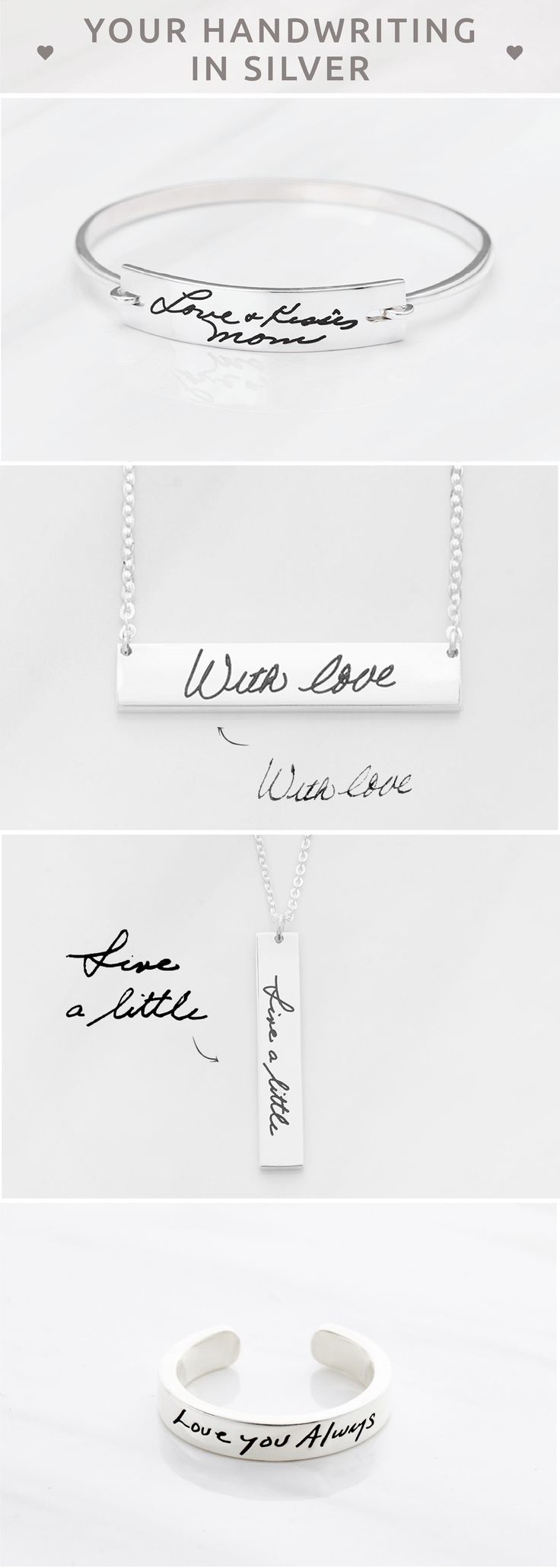 Handwriting jewelry • Actual handwriting jewelry • Personalized handwriting jewelry • Handwritten jewelry • Personalized handwriting jewelry • Handwriting gift • Handwriting bar necklace • Handwriting Necklace  • gift for a friend • best friend present ideas • best gift for friend • christmas gift ideas for friends • gifts for mom birthday • gifts for mothers day • birthday gift ideas for mom • mom gifts • gift ideas for mother in law christmas gifts