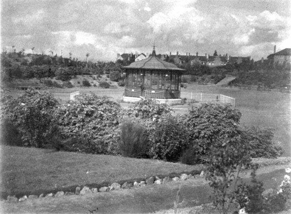 Bandstand, Willenhall Memorial Park, c1922