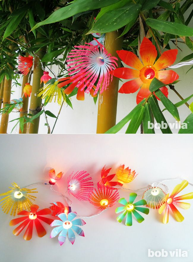 17 best images about plastic bottle flowers on pinterest for Diy recycled plastic bottles