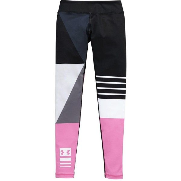 Under Armour Under Armour Older Girls Mix Masters Legging (£28) ❤ liked on Polyvore featuring pants, leggings, under armour pants, legging pants, under armour leggings and under armour