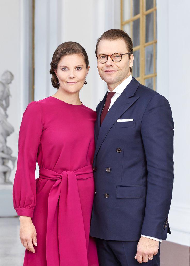 Наследная принцесса Швеции Виктория и ее муж принц Даниэль
