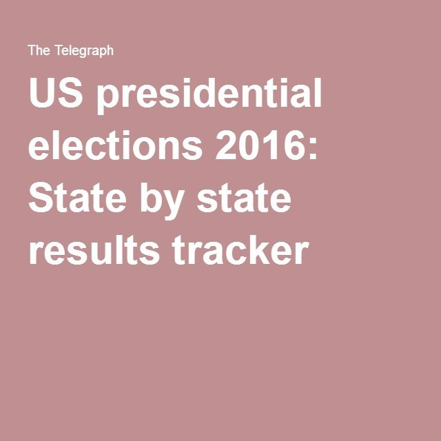 US presidential elections 2016: State by state results tracker