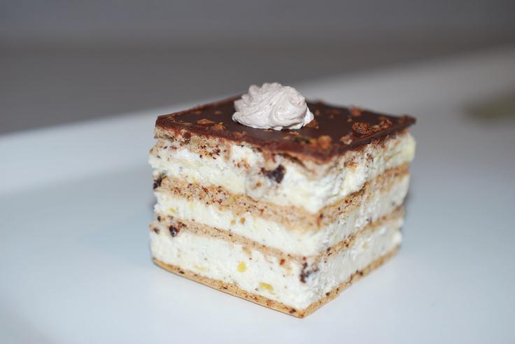 Jadranka Pastries signature dessert - Bohem. www.jadrankapastries.com