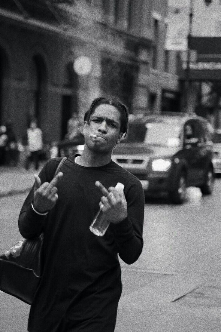 Pin by Pleun Van de Port on asap rocky in 2020 Black and