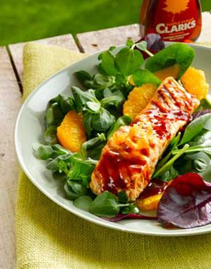 Style nest readers loved our Salmon with Clarks Maple Syrup Barbecue Sauce recipe www.clarksmaplesyrup.co.uk