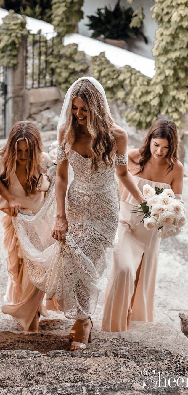 ba92618aac Top selling boho lace wedding dress.#bohowedding #bohoweddingdresses # weddingdresses #weddingdress #weddings #weddinginspiration #beachwedding ...