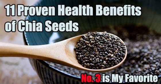 11 Proven Health Benefits of Chia Seeds (No. 3 is My Favorite)