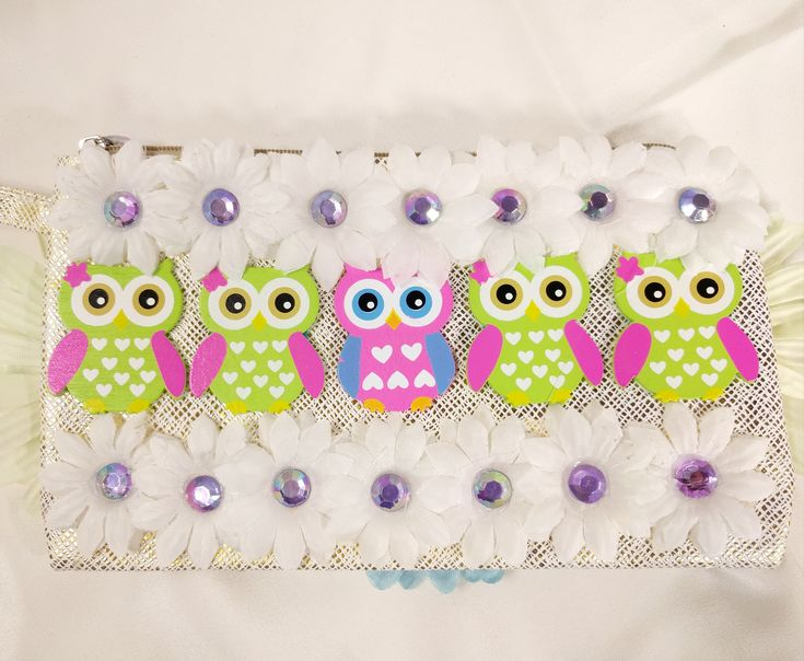 Excited to share the latest addition to my #etsy shop: EDC Daisy Owl Handbag • EDM • Costume • Outfit • Rave • Purse • Kids • Festival • Flower