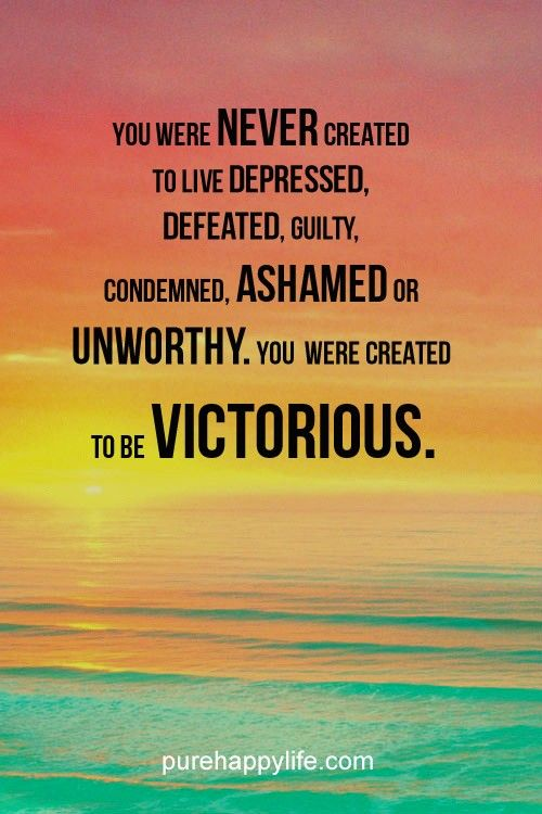 #quotes - you were never created...more on purehappylife.com