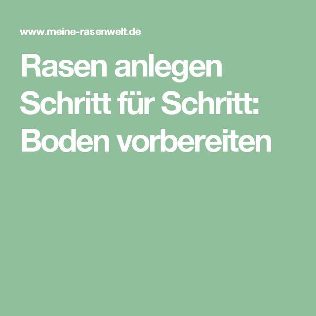 Steingarten Anlegen Schritt Für Schritt :  Rasen Anlegen pe Pinterest  Beet anlegen, Gazon și Terrasse anlegen