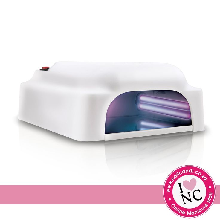 36W UV Nail Lamp with removable bottom tray