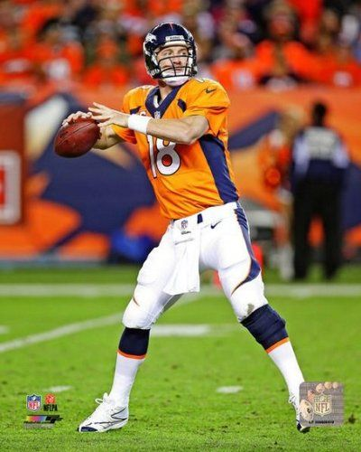 Peyton Manning #18, Denver Broncos, NFL Official Photo 2013