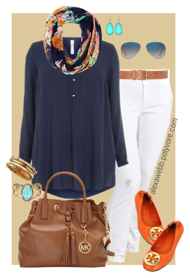 Plus Size - Jet Setter by alexawebb on Polyvore featuring Old Navy, Tory Burch, MICHAEL Michael Kors, Ashley Pittman, Barse, Kate Spade, Charlotte Russe and Ray-Ban