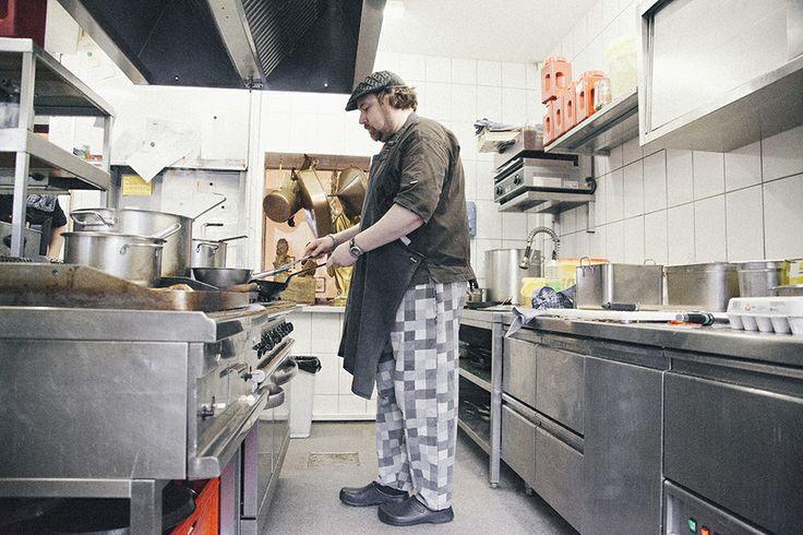 Frank Brüdigam, Head Chef of Brüdigams shot by AFT | Jasmin Göttling