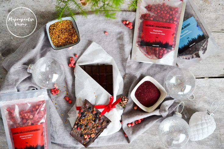 Yhteistyö: Nordic gusto www.nordicgusto.fi Joulu on monelle suklaan aikaa. Meidän perheellä tämä huvi on jäänyt vuosien saatossa vähemmälle ja nykyisin teemmekin suklaatryffelit itse. Tänä vuonna t…