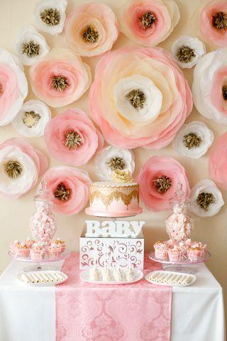 Flower Party First Birthday (Цветочный первый день рождения)