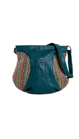 Wear fun purses with coats that are solid color Skunkfunk Spring Summer 2012 collection