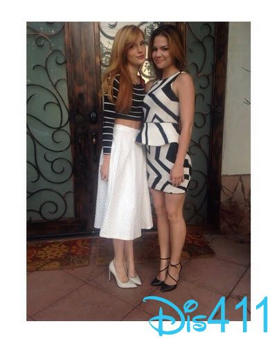 Photo: Bella Thorne And Kaili Thorne Dinner With Joel Silver March 12, 2014