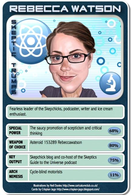 Skeptic Trumps - Rebecca Watson